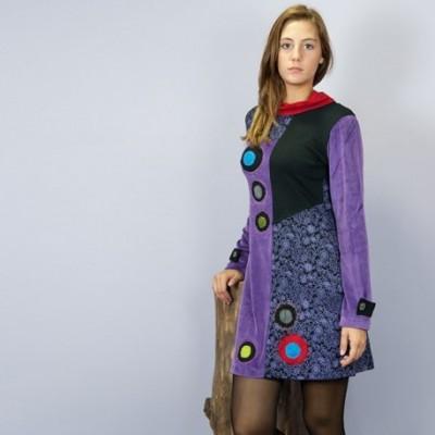 Vestido hippie chic DRNE1411