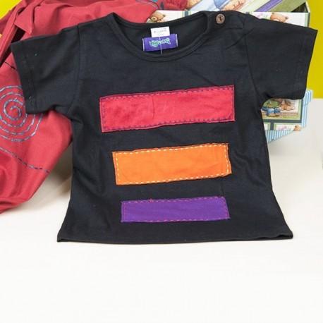 Camiseta hippie niños KDNE1503