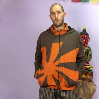Chaqueta hippie hombre JKNE1502