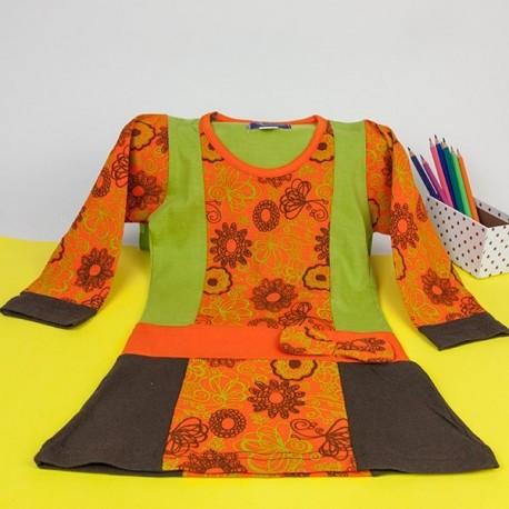 Vestido hippie niñas KDNE1529