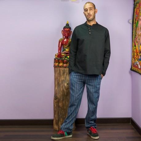 Pantalon Grueso Rayas TRM1708