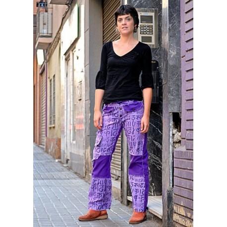 Pantalon vaquero hippie TRNE0834