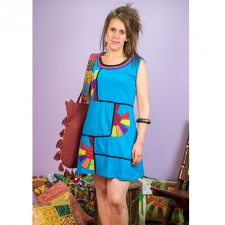 Vestido Hippie Sol DRNE1602
