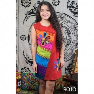 Vestido Hippie Flower DRNE1603