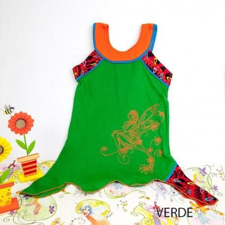 Vestido hada niñas KDNE1608