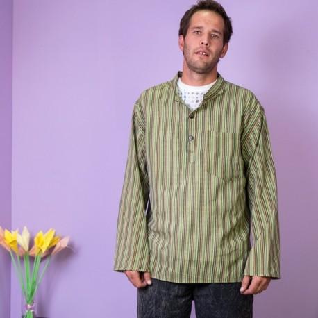 Camisa Hippie Rayas KTNE1602