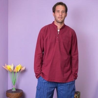 Camisa cuello Mao KTNE1603