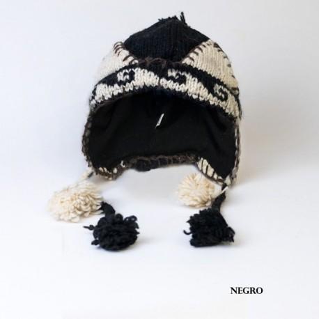 Gorro hippie lana CAP39NE
