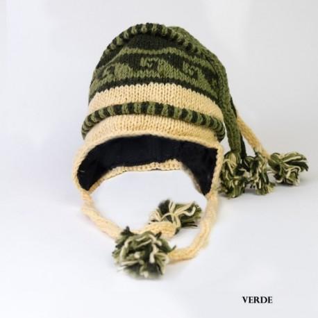 Gorro hippie lana CAP40NE