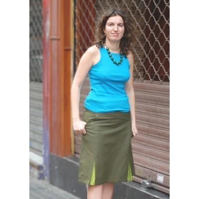 Falda casual SKNE0832