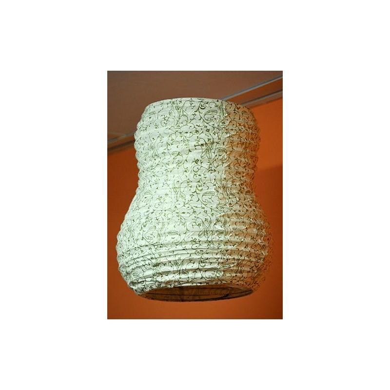 Lampara papel decorado lp15ne - Lamparas de papel de arroz ...