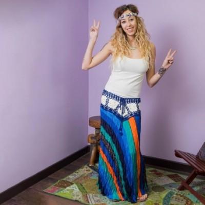 Falda Hippie SKTH1701