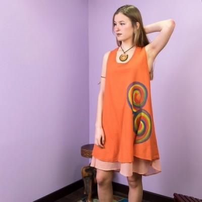 Vestido Pintado DRTH1702