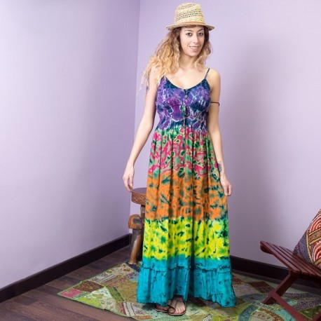 Vestido Hippie Tye Dye DRTH1703