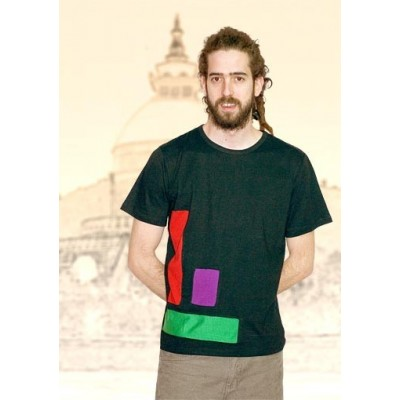 Camiseta hippie hombre SHNE0901