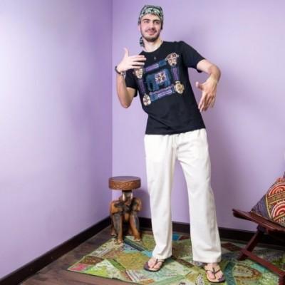 Pantalon Hippie liso TRM1704
