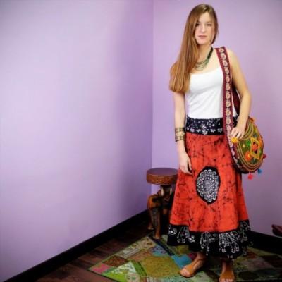 Falda Pareo Batik SKNE1705