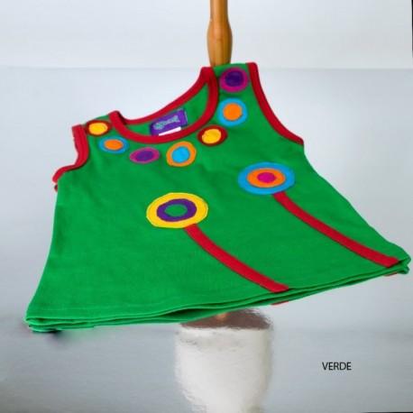 Camiseta Hippie Niñas KDNE1708