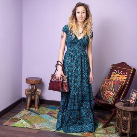Vestido Largo Hippie DRIN1708