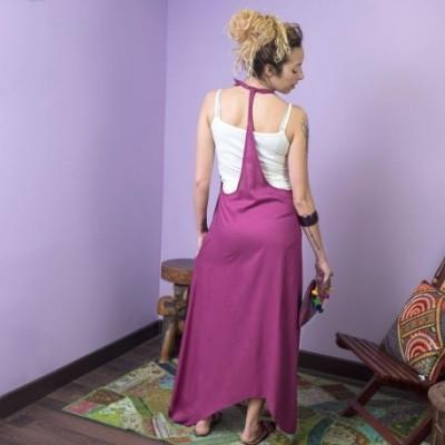 Vestido largo peto DRIN1709