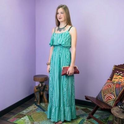 Vestido largo hippie DRIN1710