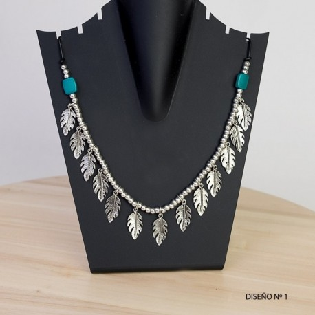 Collar Etnico Plumas CL124IN