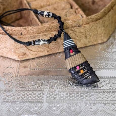 Collar Hippie Madera CL125TH