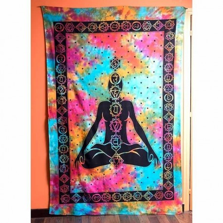 Colcha Buddha Chakras