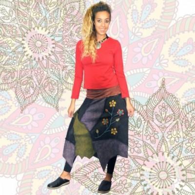 Falda Hippie SKNE1712