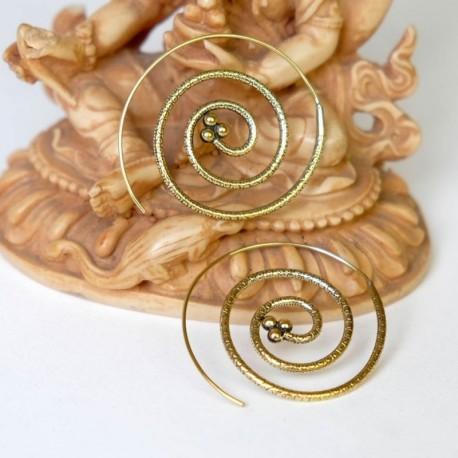 Pendientes espiral PE392IN