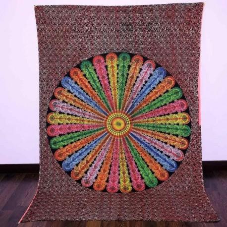 Colcha Tribal Multicolor
