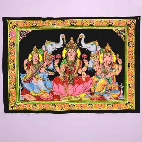 Tapiz Laxmi Saraswati Ganesh
