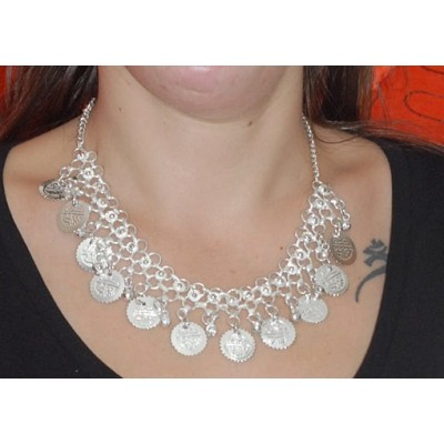 Collar monedas COD06IN