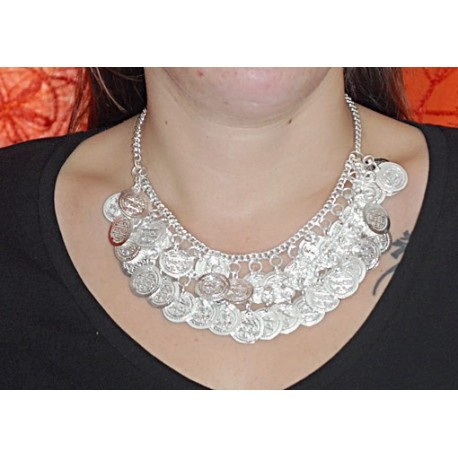 Collar monedas COD05IN