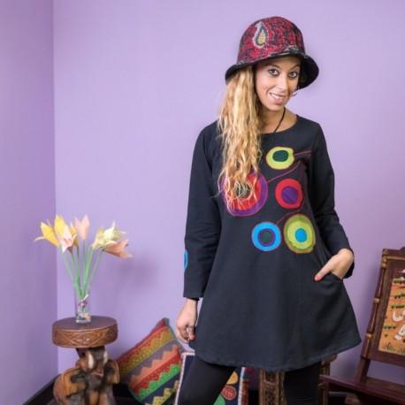 Vestido Hippie Chic DRNE1614