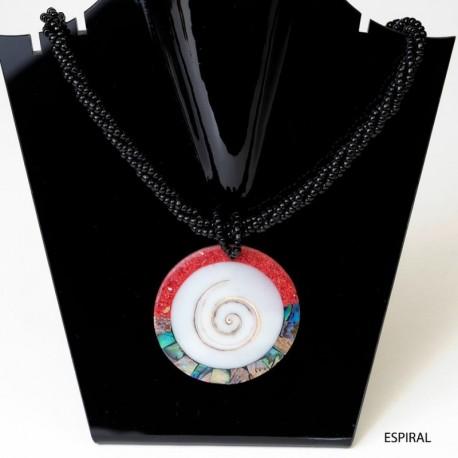 Collar etnico nacar CL141BA