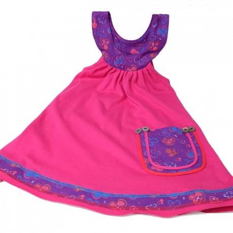 Vestido casual niña KDNE1801
