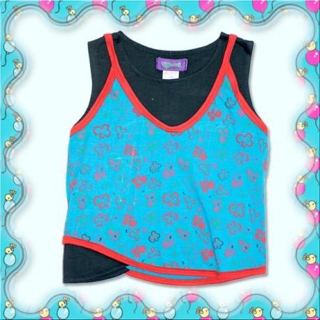 Camiseta hippie niñas KDNE1111