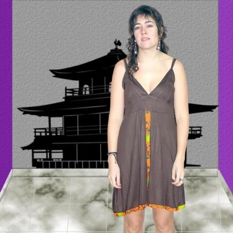 Vestido espalda descubierta DRIN1106