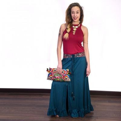 Falda larga hippie SKIN1807