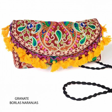 Clutch Vintage Bordado BG293