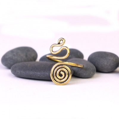 Anillo Espiral Pie ANT13IN