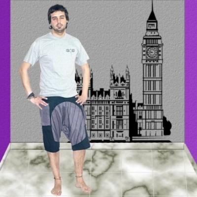 Pantalon turco pirata hombre TRM1103