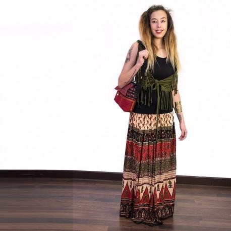 Falda Larga Hippie SKIN1810