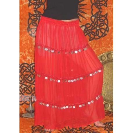 Falda danza oriental CACHEMIRA