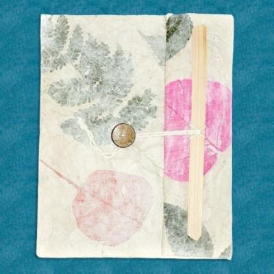 Libreta flores naturales NB39NE