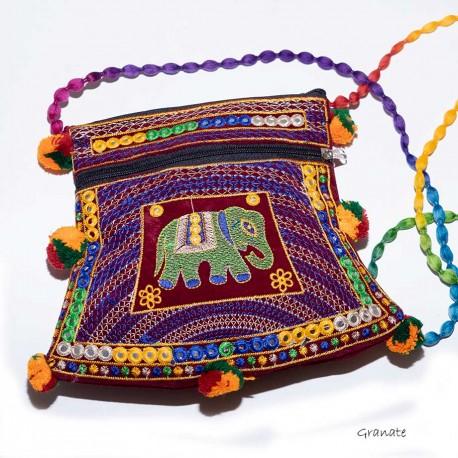 Bolso etnico bordado BG296