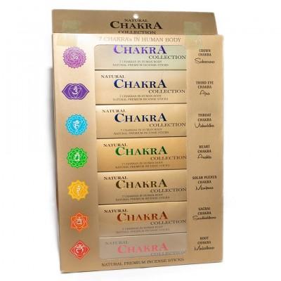 Incienso coleccion 7 chakras