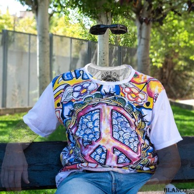 Camiseta HIPPIE SHTH1805