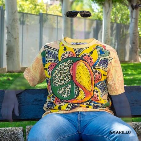 Camiseta hombre PEACE&LOVE SHTH1804